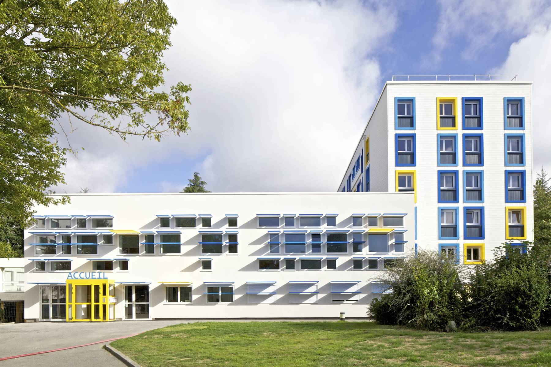 B timents a b c de la cit universitaire patton rennes for Chambre universitaire rennes